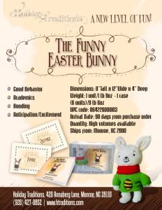 The Funny Easter Bunny, by Priscilla York.